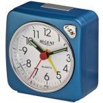 Regent 40-901-5 Wecker Analog Licht Alarm blau