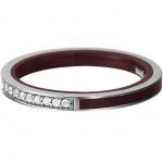 Esprit ESRG91939C Damen Ring marin silver glam bordeaux Rot 56 (17.8)