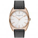 LIEBESKIND LT-0023-LQ Uhr Damenuhr Lederarmband grau