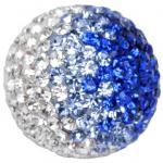 Engelsrufer Damen Klangkugel Metall klein Zirkonia weiß blau
