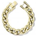 Tommy Hilfiger 2700916 Damen Armband Edelstahl Gold 17, 5 cm