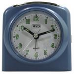 W&S 02028 Wecker Uhr blau-weiß Analog Licht Alarm