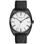 LIEBESKIND LT-0010-LQ Uhr Damenuhr Lederarmband schwarz