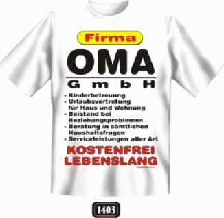 Fun T-Shirt - Oma GmbH - Vorschau