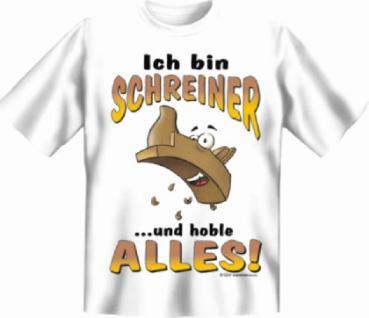 Fun T-Shirt - Schreiner - Vorschau
