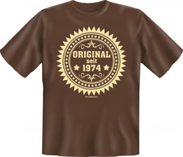 Geburtstag T-Shirt - Original seit 1974 - Vorschau