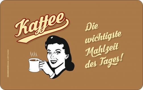 Frühstücksbrett - Kaffee Mahlzeit des Tages