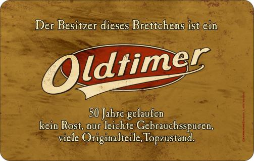 Geburtstag Frühstücksbrett - Oldtimer 50 Jahre - Vorschau