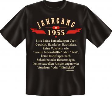 Geburtstag T-Shirt - Jahrgang 1955 Geschenk - Vorschau 1