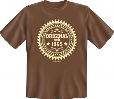 Geburtstag T-Shirt - Original seit 1965