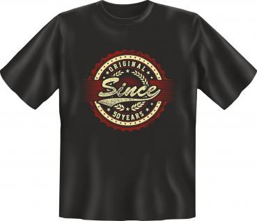 Geburtstag T-Shirt - Original since 50 Years - Vorschau