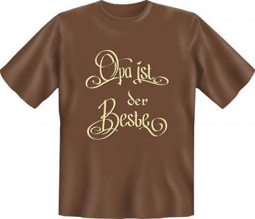 Geburtstag T-Shirt - Opa ist der Beste - Vorschau