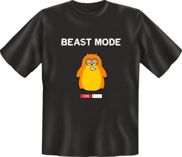 Fun T-Shirt - Beast Mode on