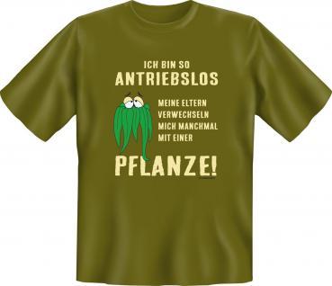Teenager T-Shirt - Antriebslos wie eine Pflanze