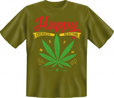 Fun T-Shirt - Happy Chemical Reaction
