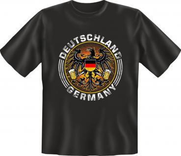 Wappen T-Shirt - Deutschland Germany