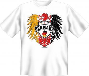 Deutschland T-Shirt - Adler Wappen Germany - Vorschau