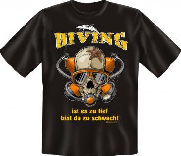Taucher T-Shirt - Diving - Vorschau 1