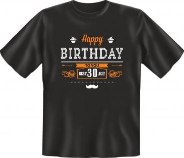 Geburtstag T-Shirt 30 Jahre - Best Age 30