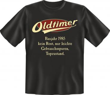Geburtstag T-Shirt - Oldtimer Baujahr 1985