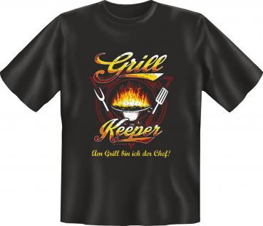 Fun T-Shirt - Chef Grill Keeper - Vorschau 1