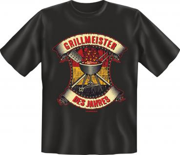 Grill T-Shirt - Grillmeister des Jahres