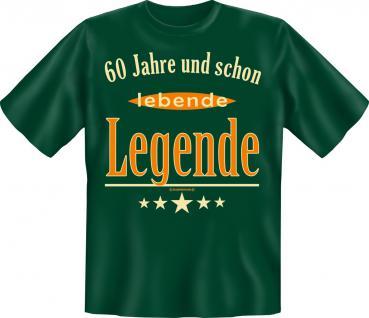 Geburtstag T-Shirt - 60 Jahre lebende Legende
