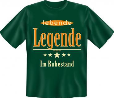 Geburtstag T-Shirt - Lebende Legende im Ruhestand - Vorschau 1