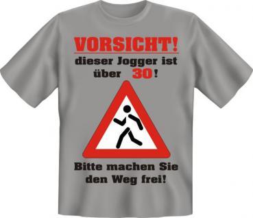 Geburtstag T-Shirt - Jogger über 30 Jahre