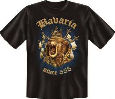 Bayern T-Shirt - Bavaria since 555