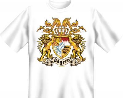 Bavaria T-Shirt - Bayern Wappen Löwe