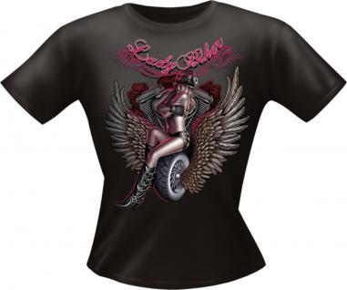 Girls T-Shirt - Lady Biker