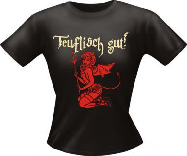 Girls T-Shirt - Teuflisch gut - Vorschau 1