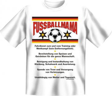 Fun T-Shirt - Fussball Mama - Vorschau