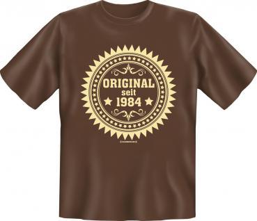 Geburtstag T-Shirt - Original seit 1984