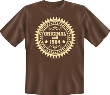 Geburtstag T-Shirt - Original seit 1964