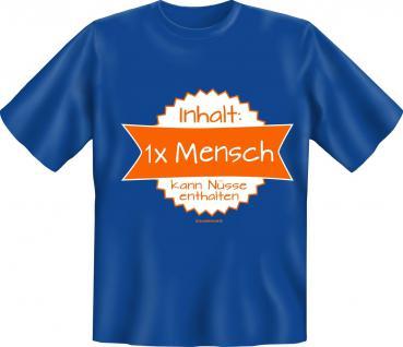 T-Shirt - Inhalt 1x Mensch + Nüsse - Vorschau