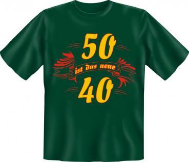 Geburtstag T-Shirt - 50 ist das neue 40