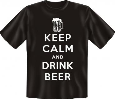 T-Shirt - Keep Calm and drink Beer