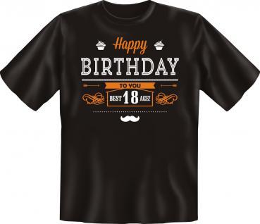 Geburtstag T-Shirt - Happy Birthday 18