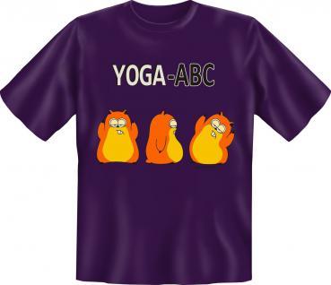 Fun T-Shirt - Yoga ABC