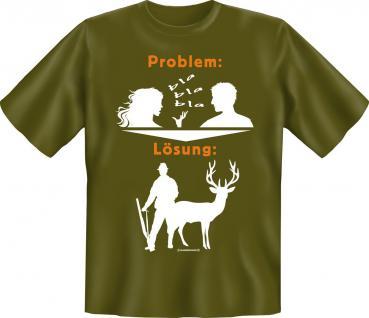 T-Shirt - Problem Lösung Jagd - Vorschau 1