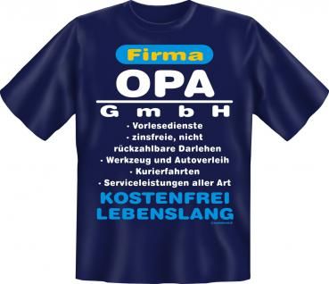 Geburtstag T-Shirt - Opa GmbH