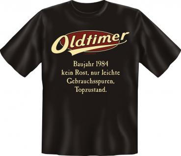 Geburtstag T-Shirt - Oldtimer Baujahr 1984 - Vorschau