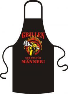 Grillschürze - Grillen für Männer - Vorschau