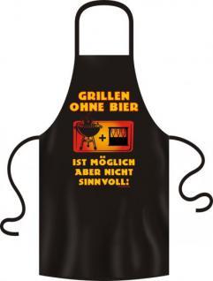 Grillschürze - Grillen ohne Bier - Vorschau