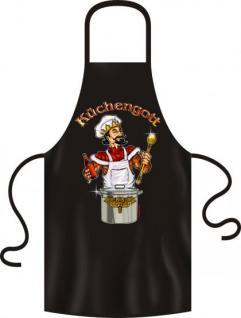 Kochschürze - Küchengott - Vorschau