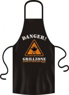 Grillschürze - Danger Grillzone - Vorschau
