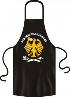 Grillschürze - Bundesgrillminister - Vorschau