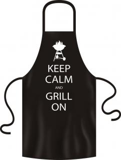 Grillschürze - Keep Calm and grill on